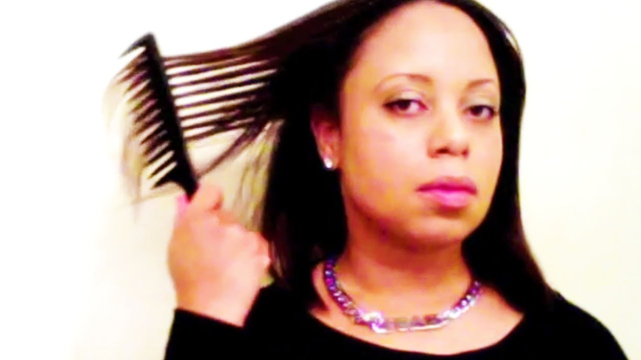 Straighten Natural Hair No Heat Damage
