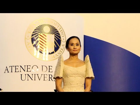 Lisa Macuja-Elizalde: Loyola Schools Commencement Address, 28 March 2015