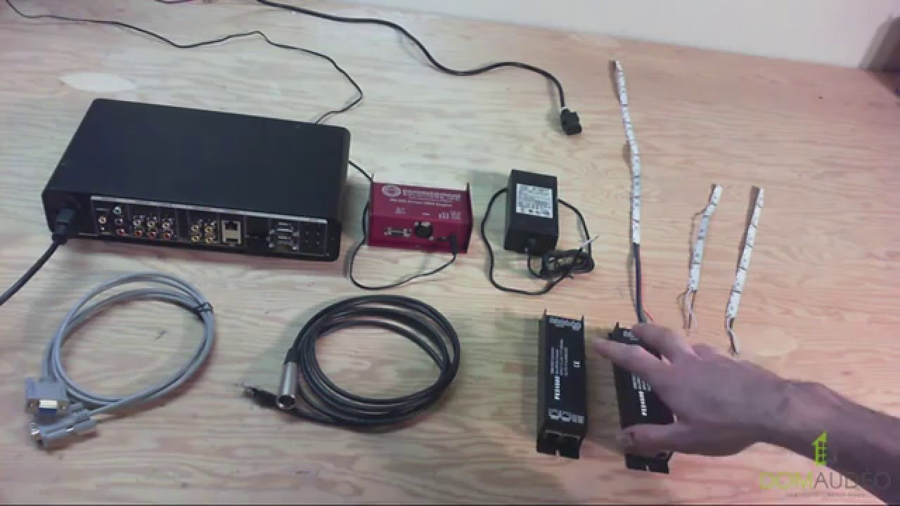 DMX for Control4 Tutorial #1: Basic Cabling and Driver installation ...