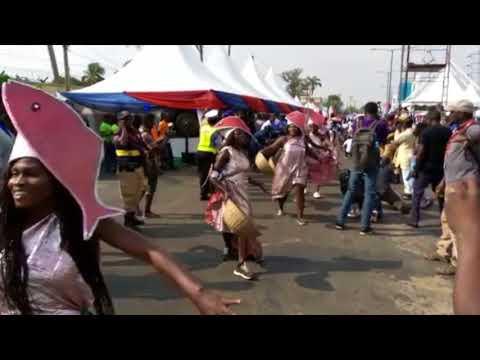 Bidiyon bikin kalankuwar al'adu a Lagos