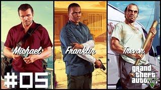 Grand Theft Auto V - w/ MisterCe #05 - Nerwowe murzynki