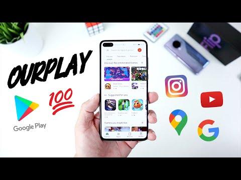 NEW Method!!! Install Google Play On Every Huawei Device - Using OurPlay! [No PC | No USB]  📱