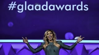 Laverne Cox Hosts the 27th Annual #GLAADAWARDS
