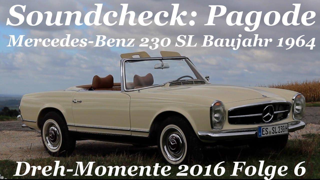 soundcheck pagode mercedes benz 230 sl baujahr 1964. Black Bedroom Furniture Sets. Home Design Ideas