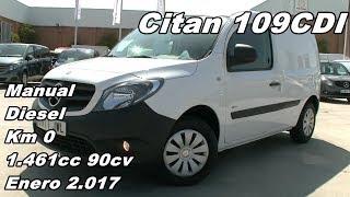 Mercedes Citan 109CDI Furgon Largo Manual Diesel Km 0 90cv en Itarsa Madrid 3911 JWL