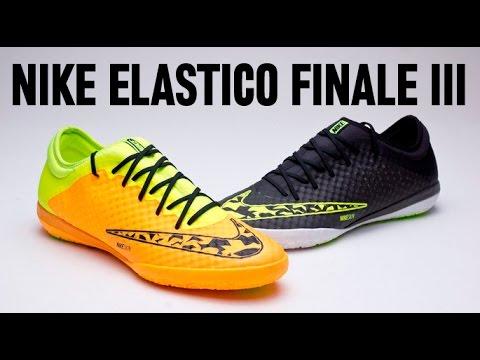 8bb0d8953a9d7 Review zapatilla Nike Elastico Finale III. Fútbol Emotion