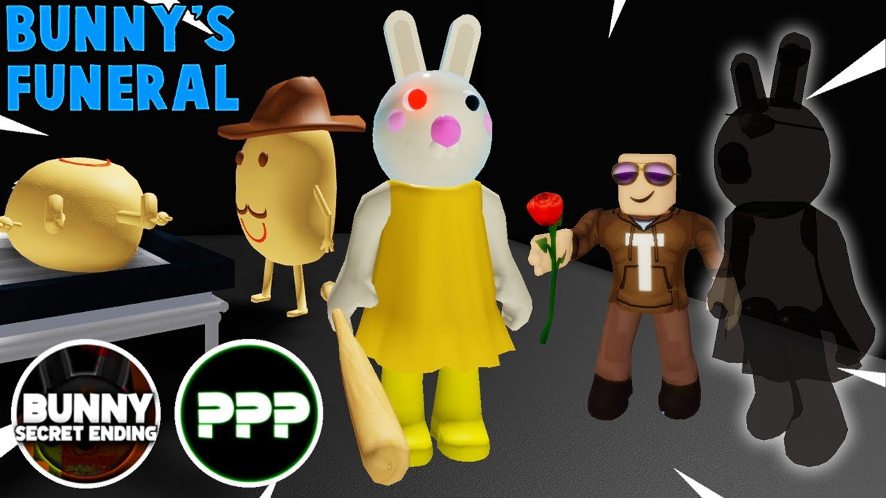 Bunny's Funeral SECRET ENDING and ??? ENDING! / Roblox