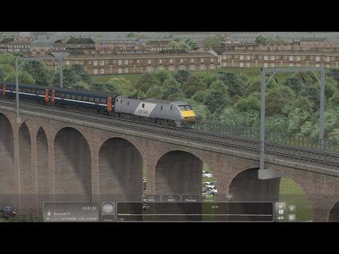 Train simulator 2017: class 91 York-Newcastle with AP enhancement pack