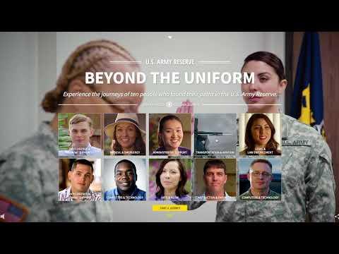 Beyond The Uniform Website Walkthrough