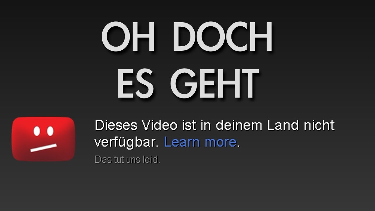 in deutschland gesperrte youtube videos