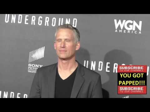 Reed Diamond at the WGN America's Underground World Premiere at Ace Hotel in Los Angeles