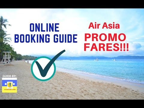 Online Booking AirAsia Promo Tickets