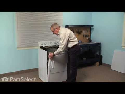 Dryer Repair - Replacing the Heating Element and Housing (GE Part # WE11M23)
