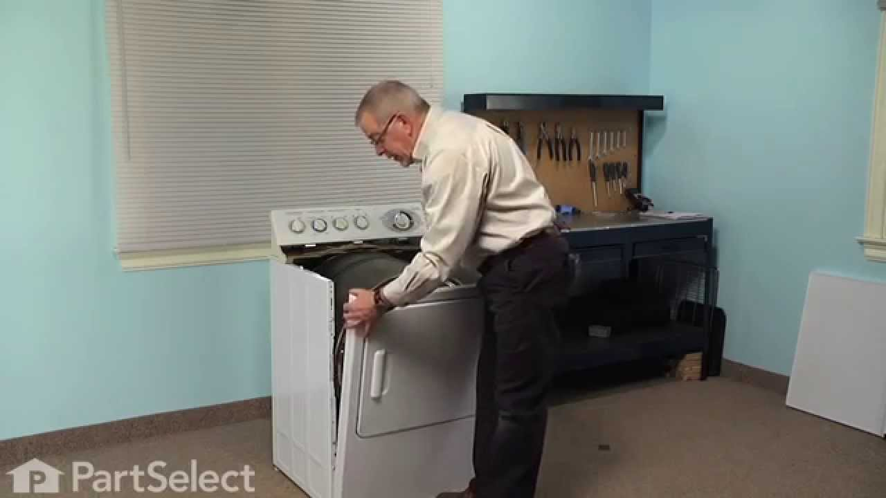 dryer repair replacing the heating element and housing ge part we11m23 youtube [ 1280 x 720 Pixel ]