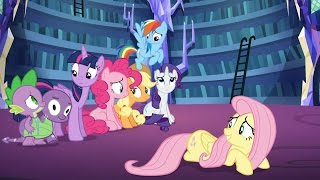 Fluttershy - Oh, I am! I am ready to take on Nightmare Night! Just practicing.