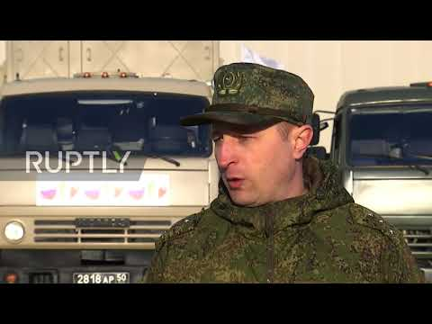Italy: Russian coronavirus response team heads to Bergamo