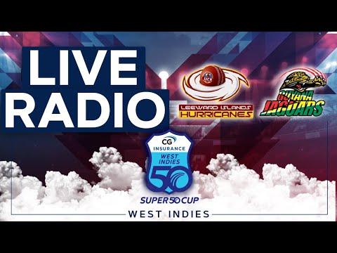 🔴LIVE RADIO Leeward Islands vs Guyana   CG Insurance Super50 Cup