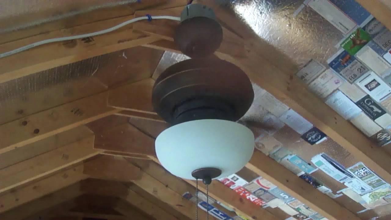 24 Quot Monte Carlo Mini Ceiling Fan Youtube
