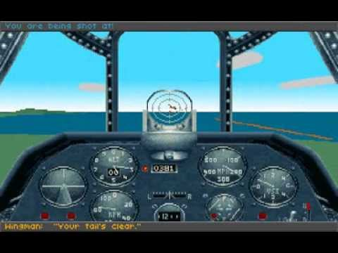 Aces Of The Pacific 'Campaign - Port Moresby '1942 (Sierra/Dynamix) ,1992, PC, DOS ,MT32/SB