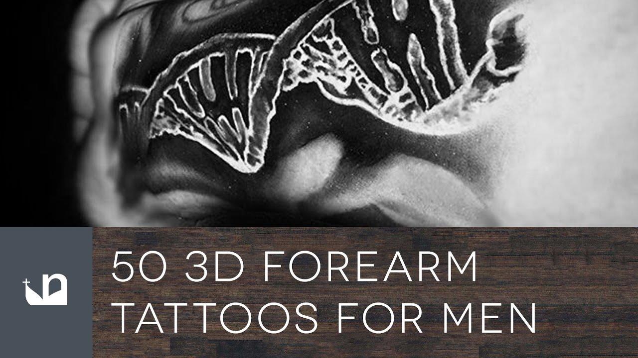 50 3D Forearm Tattoos For Men – Three-Dimensional Design Ideas