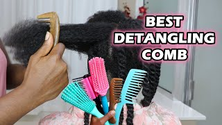 Which is the Best Detangling Brush and Comb for Type 4 Natural Hair  ? | DiscoveringNatural