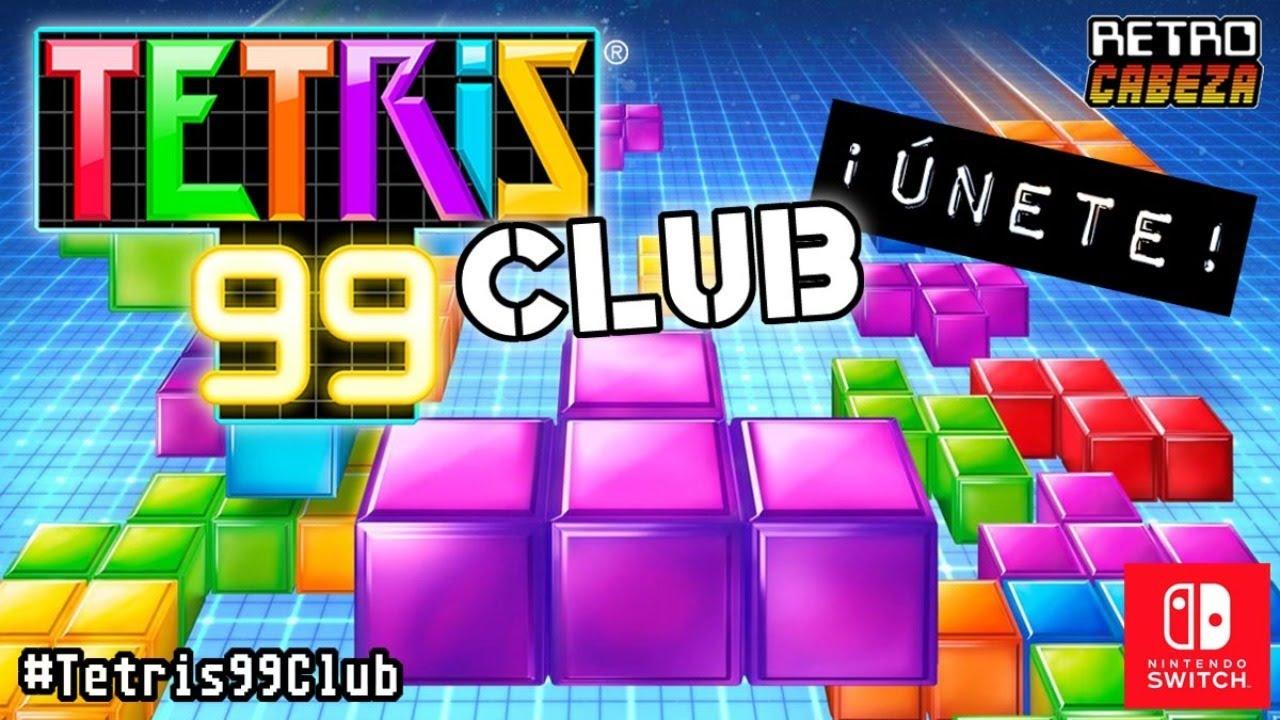 TETRIS 99 Club Día 25 (28/06/2020) ¡ÚNETE!