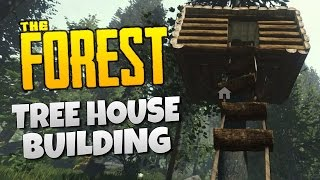 Tree House Building - The Forest Update V0.07