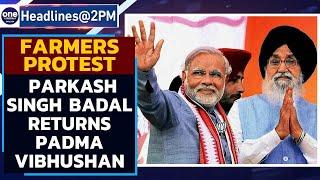 Parkash Singh Badal returns Padma Vibhushan, protests farm laws | Oneindia News