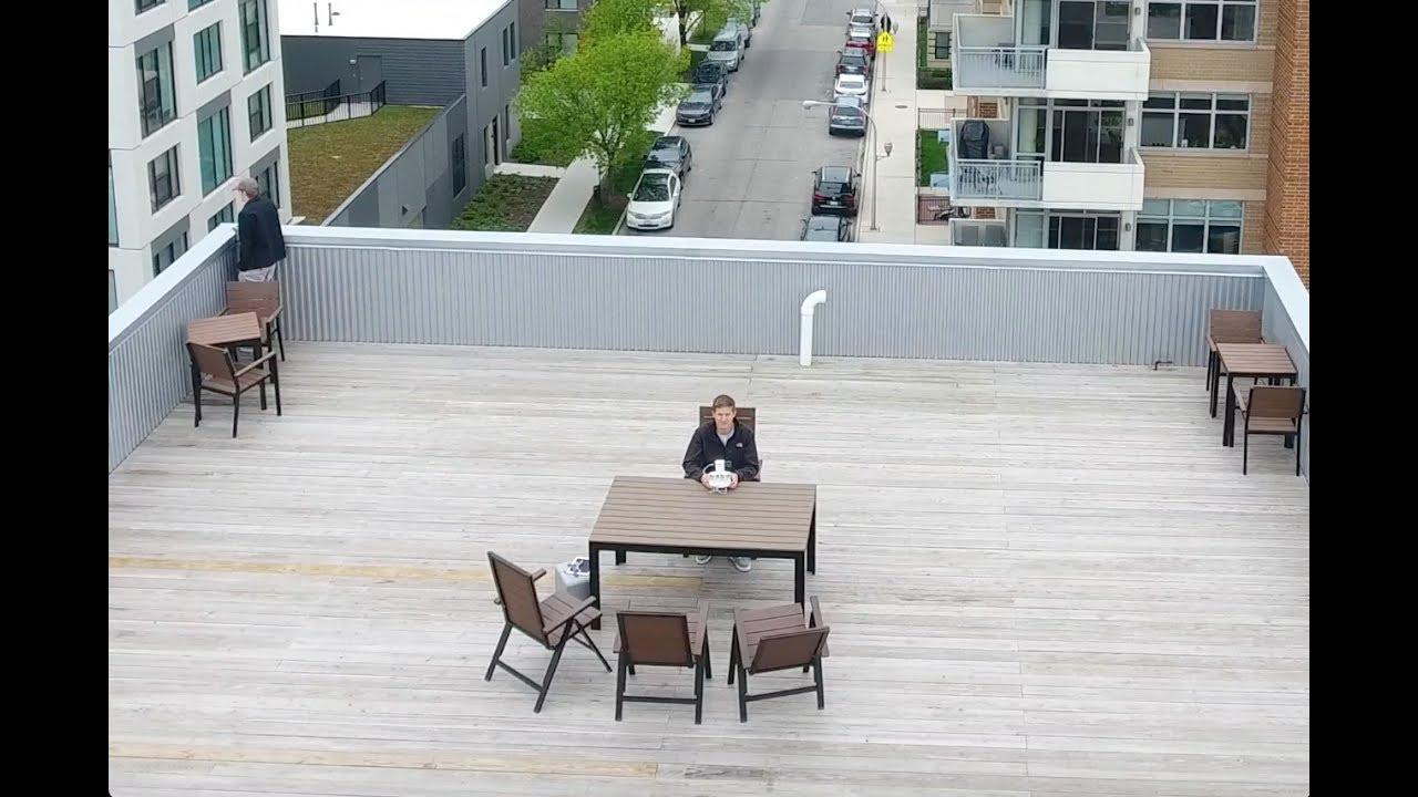 Chicago Rooftop Office Steve Jobs Motivation