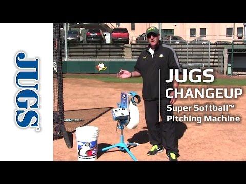 JUGS Changeup Super Softball Pitching Machine | JUGS Sports