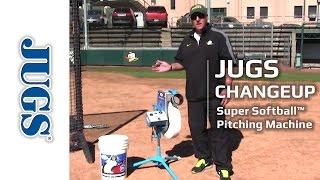 jugs changeup super softball pitching machine   jugs sports