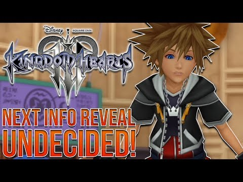 Kingdom Hearts 3 News - Next Info Reveal Undecided?