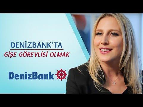 DenizBank'ta Gişe Görevlisi Olmak
