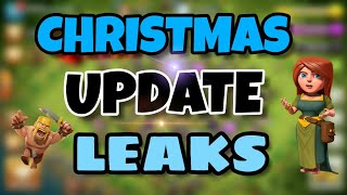 HUGE UPDATE OF CLASH OF CLANS EXPLAINED | CHRISTMAS/WINTER UPDATE IN COC
