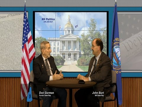 NH Politics with John Burt Talks to Don Gorman about being Speaker of the NH House