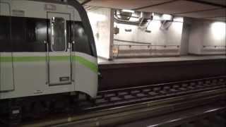 athens metro hyundai rotem siemens emu 3rd generation at syntagma station