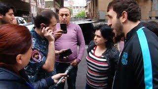 Պրեզիդենտիդ հարց տուր՝ ինչու ա ժողովրդին խաբում․ Գյուլբենկյան փողոցում լարված իրավիճակ է