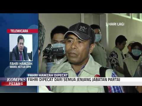 Fahri Dipecat Dari Semua Jenjang Partai
