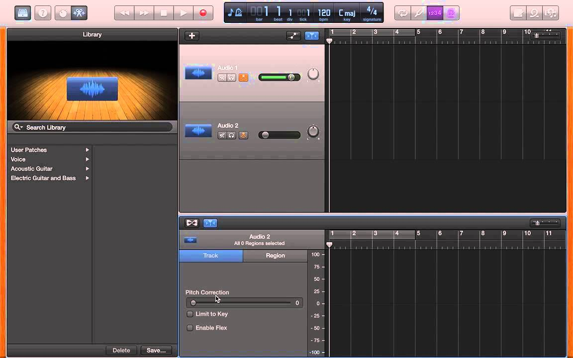 How to Add Auto Tune In Garage Band