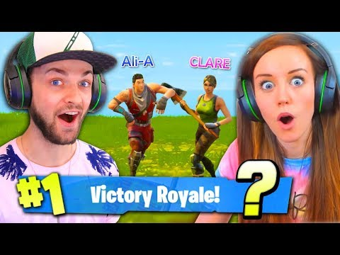 GIRLFRIEND SAVES THE DAY! (#1 WIN AGAIN?!) - Fortnite: Battle Royale