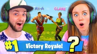 girlfriend saves the day 1 win again fortnite battle royale
