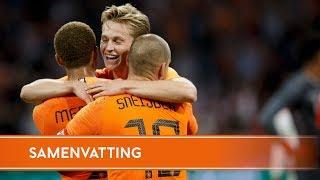 Highlights Nederland-Peru (6/9/2018)