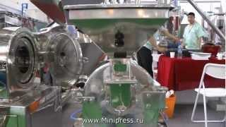 Фармацевтическое оборудование для измельчения сырья и гранулирования на www.MiniPress.ru(, 2013-02-28T05:25:25.000Z)
