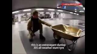 Wheelbarrow Rider Funny Sport