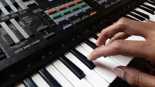 Khuda gawah song on piano