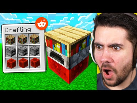 Testing 1000IQ Minecraft Hacks To See If They Work!