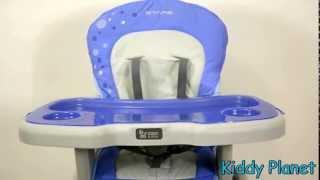 Coto Baby Stars - стульчик трансформер для кормления. Видео обзор.