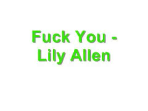FuckYou-LiLy Allen