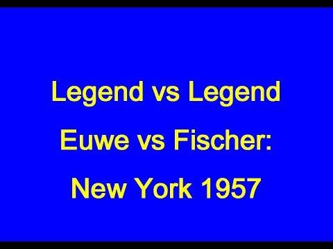 Max Euwe vs Robert James Fischer: New York 1957