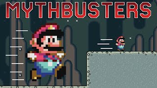 Is Mega Mario Faster Than Small Mario? - Mario Multiverse Mythbusters [#2]